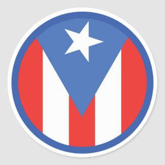 Puerto Rican Flag Sticker