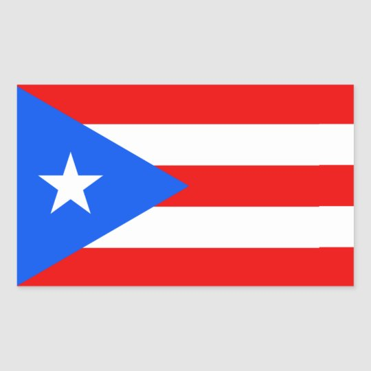 Puerto Rican Flag Stickers