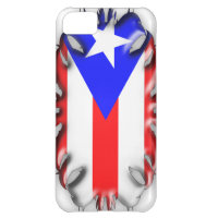 Puerto Rican Flag - Tribal iPhone 5C Cover
