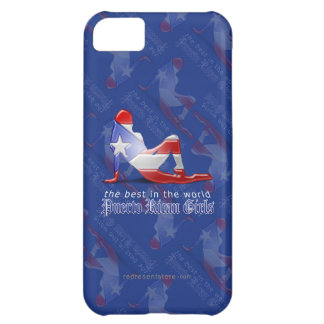 Puerto Rican Girl Silhouette Flag iPhone 5C Cover