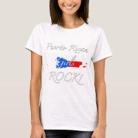 Puerto Rican Girls Rock! T-Shirt