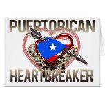 Puerto Rican Heartbreaker Greeting Card