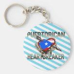 Puerto Rican Heartbreaker Keychain