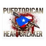 Puerto Rican Heartbreaker Postcard
