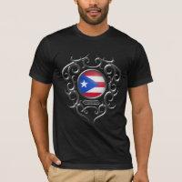Puerto Rican Iron Tribal - dark T-Shirt