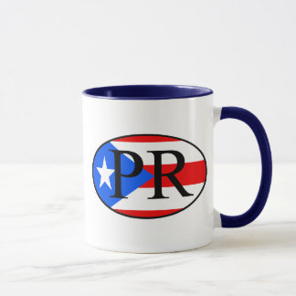 puerto rican oval mug