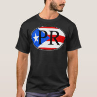 Puerto Rican oval T-Shirt