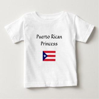 Puerto Rican Princess Baby T-Shirt