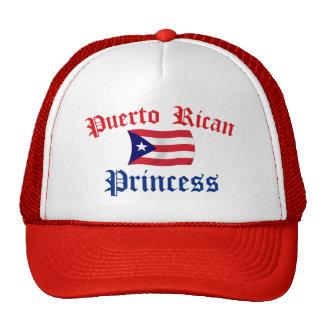 Puerto Rican Princess Mesh Hat