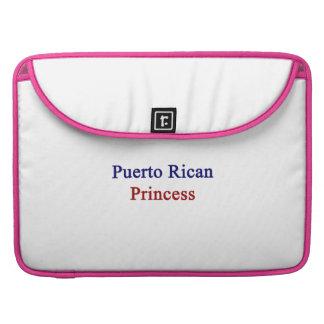 Puerto Rican Princess Sleeves For MacBook Pro