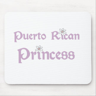 Puerto Rican Princess Mouse Pads