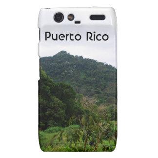 Puerto Rican Rainforest Motorola Droid RAZR Cover