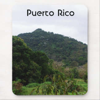 Puerto Rican Rainforest Mousepads