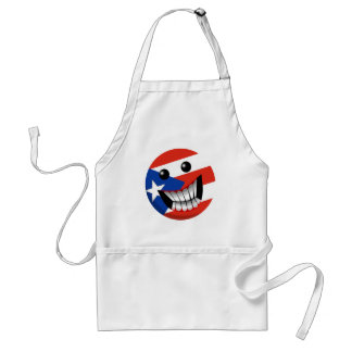 Puerto Rican Smile Adult Apron