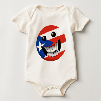 Puerto Rican Smile Baby Bodysuit