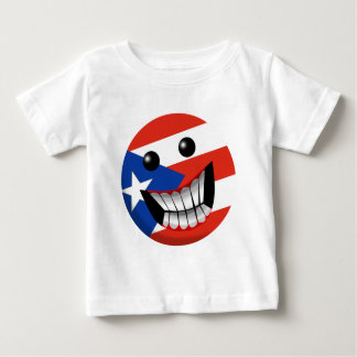 Puerto Rican Smile Baby T-Shirt
