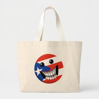 Puerto Rican Smile Canvas Bag