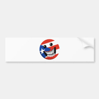 Puerto Rican Smile Bumper Stickers