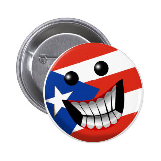 Puerto Rican Smile Pins