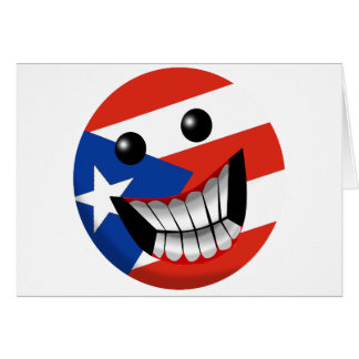 Puerto Rican Smile Greeting Cards