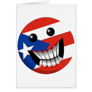 Puerto Rican Smile Greeting Card