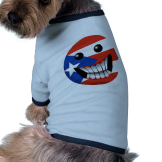 Puerto Rican Smile Pet Clothing