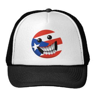 Puerto Rican Smile Mesh Hat