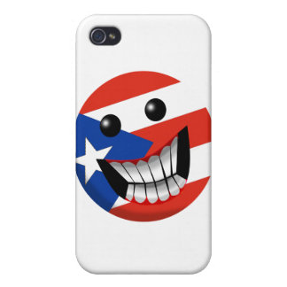 Puerto Rican Smile iPhone 4 Cover