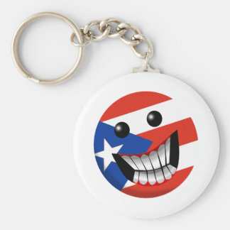 Puerto Rican Smile Keychain