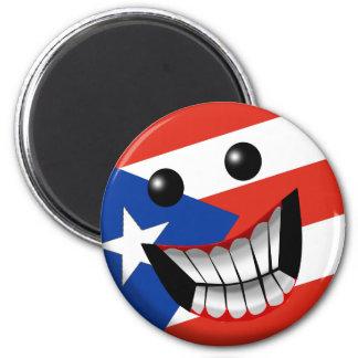 Puerto Rican Smile Refrigerator Magnets