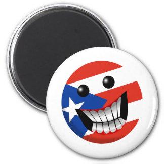 Puerto Rican Smile Fridge Magnets