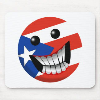 Puerto Rican Smile Mousepads