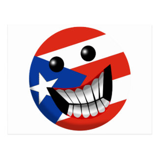 Puerto Rican Smile Post Card