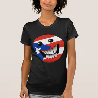 Puerto Rican Smile Tee Shirts