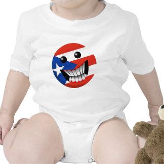 Puerto Rican Smile Rompers