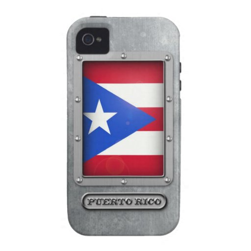Puerto Rican Steel Vibe iPhone 4 Cover
