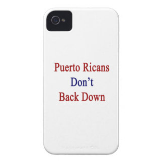 Puerto Ricans Don't Back Down Case-Mate iPhone 4 Case