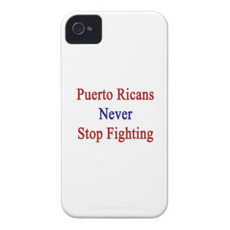 Puerto Ricans Never Stop Fighting iPhone 4 Cases
