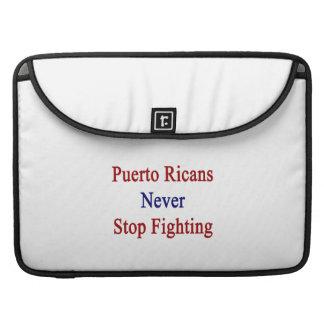 Puerto Ricans Never Stop Fighting MacBook Pro Sleeves