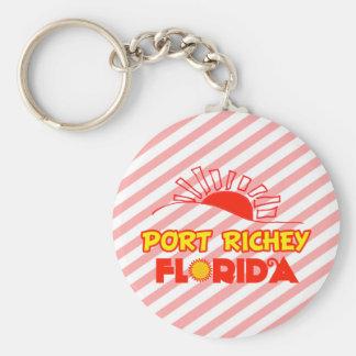 Puerto Richey la Florida Llavero Personalizado