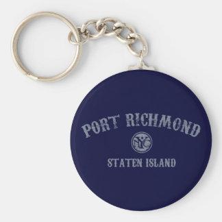 Puerto Richmond Llaveros Personalizados