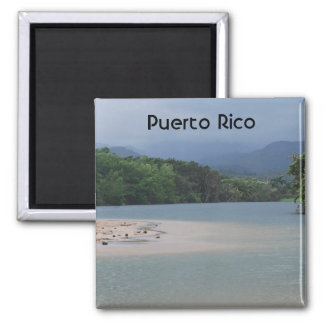 Puerto Rico 2 Inch Square Magnet