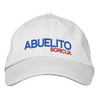 Puerto Rico Abuelito Boricua Cap