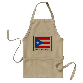 Puerto Rico Adult Apron