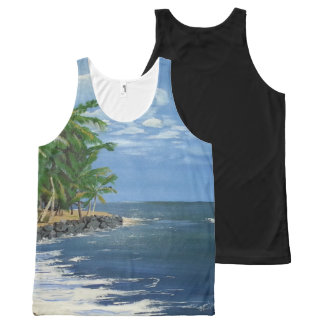 Puerto Rico All-Over-Print Tank Top