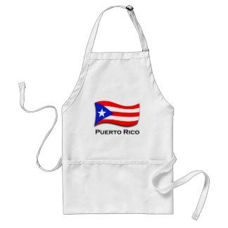 Puerto Rico Adult Apron