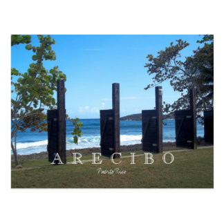 Puerto Rico Arecibo Postcard