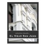 Puerto Rico Arquitectura Española Tarjeta Postal
