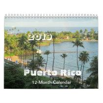 Puerto Rico - Art by Galina - Calendar