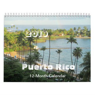 Puerto Rico - Art by Galina - Calendar
